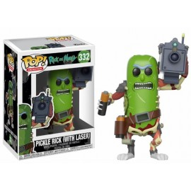 Pop!Animation:Rick and Morty Pickle Rick (With Laser)