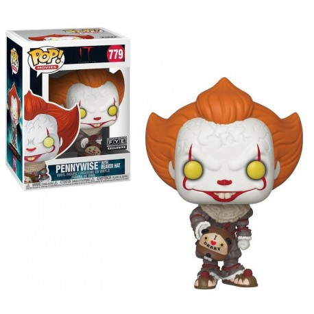 Pop!Movies:IT2-Pennywise with Beaver Hat