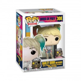 Pop!DC:Birds of Prey-Harley Quinn With Beaver