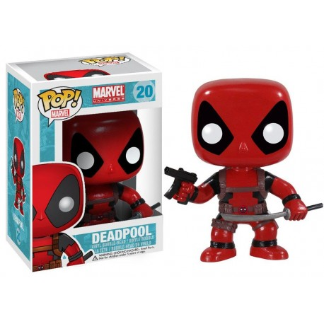 Pop! Bobble Marvel Deadpool