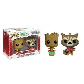 Pop!Mini Bobble Guardians Galaxy Groot e Rocket